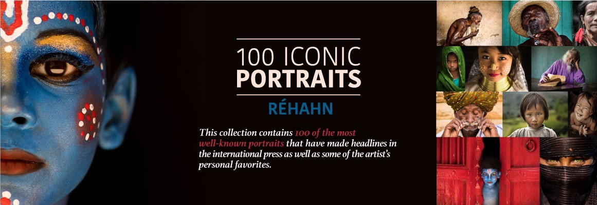 NEW BOOK – 100 ICONIC PORTRAITS