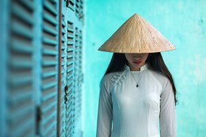 ao dai hoi an vietnam tradition culture rehahn lifestyle photograph