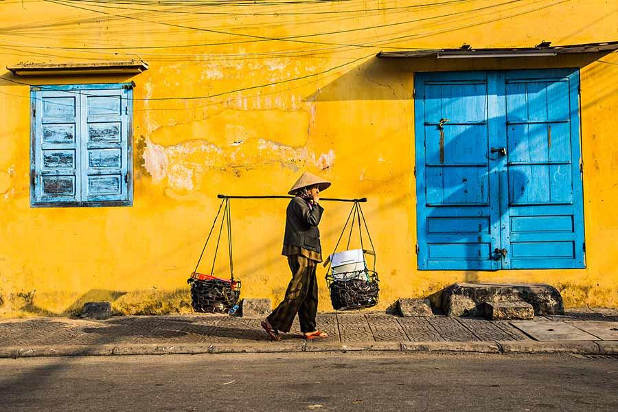 Hoi An Yellow City Vietnam rehahn lifestyle culture photograph