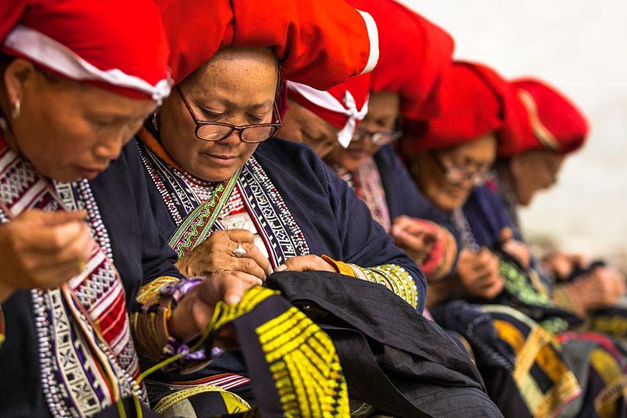 dao ethnic vietnam rehahn