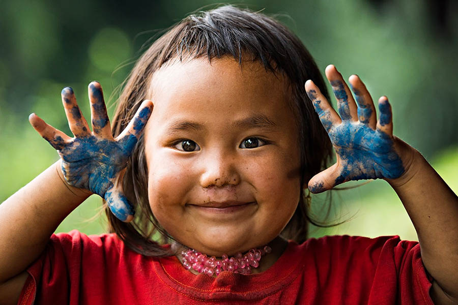 children vietnam portraits rehahn photograph