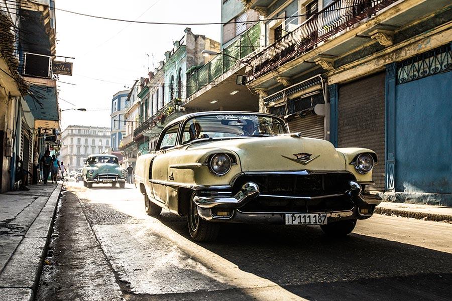 cuban car by Rehahn