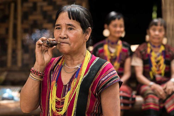 ▲ Brau ethnic group in Laos